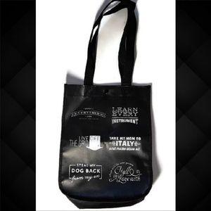 💜 Lululemon Small Reusable Shopping Tote Bag Logo
